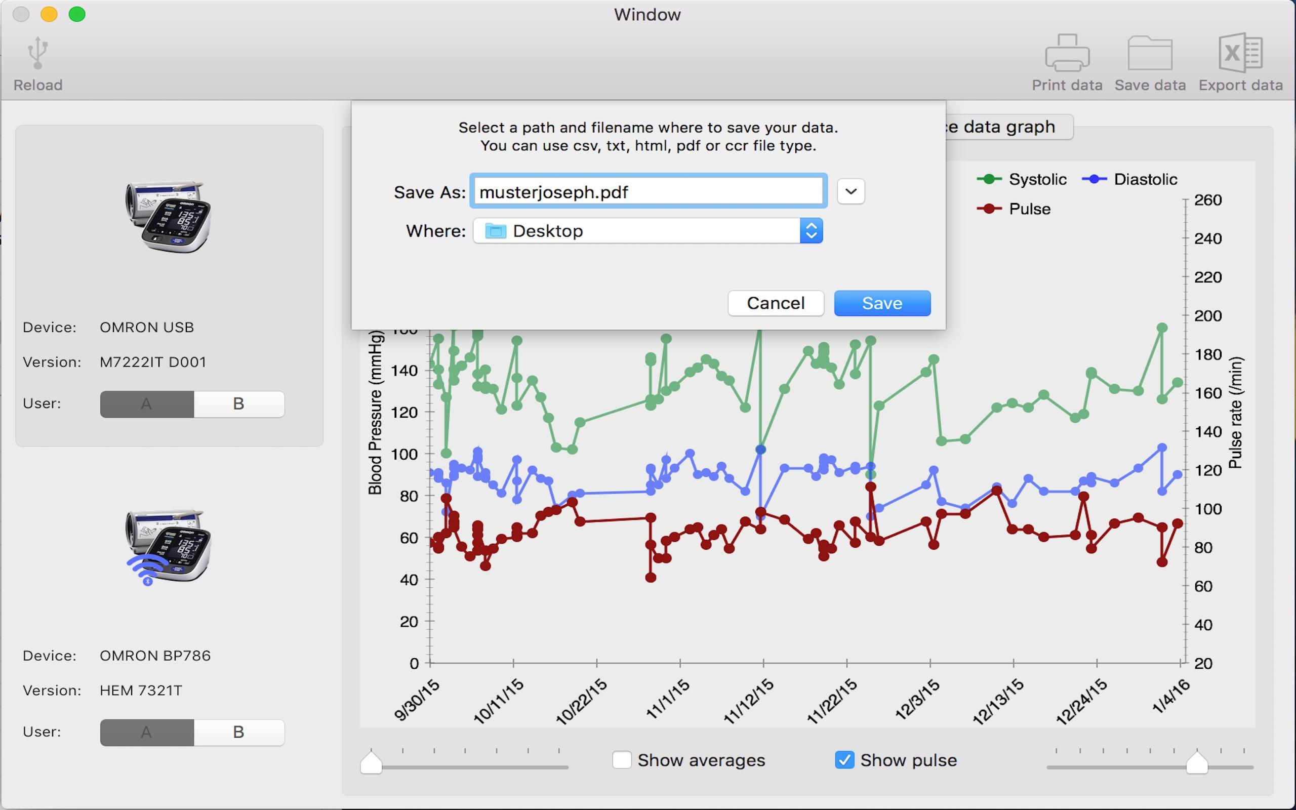 BP Data Explorer mac application